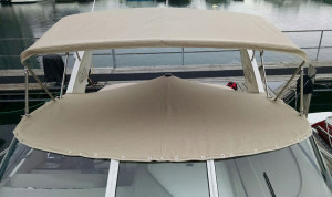 Cockpit Cover in Sunbrella Tresco Linen