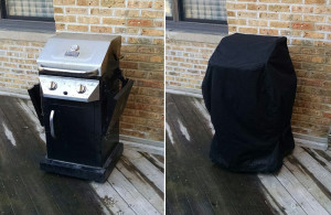 Other Services Offered by Chicago Marine Canvas: Gas Grill Cover