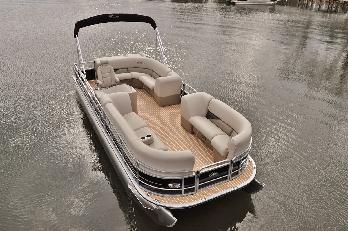 bentley dealers center in pontoon boats evans stock boat available for purchase