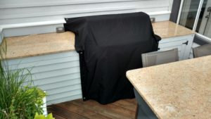 Outdoor Kitchen Area Cover By Chicago Marine Canvas