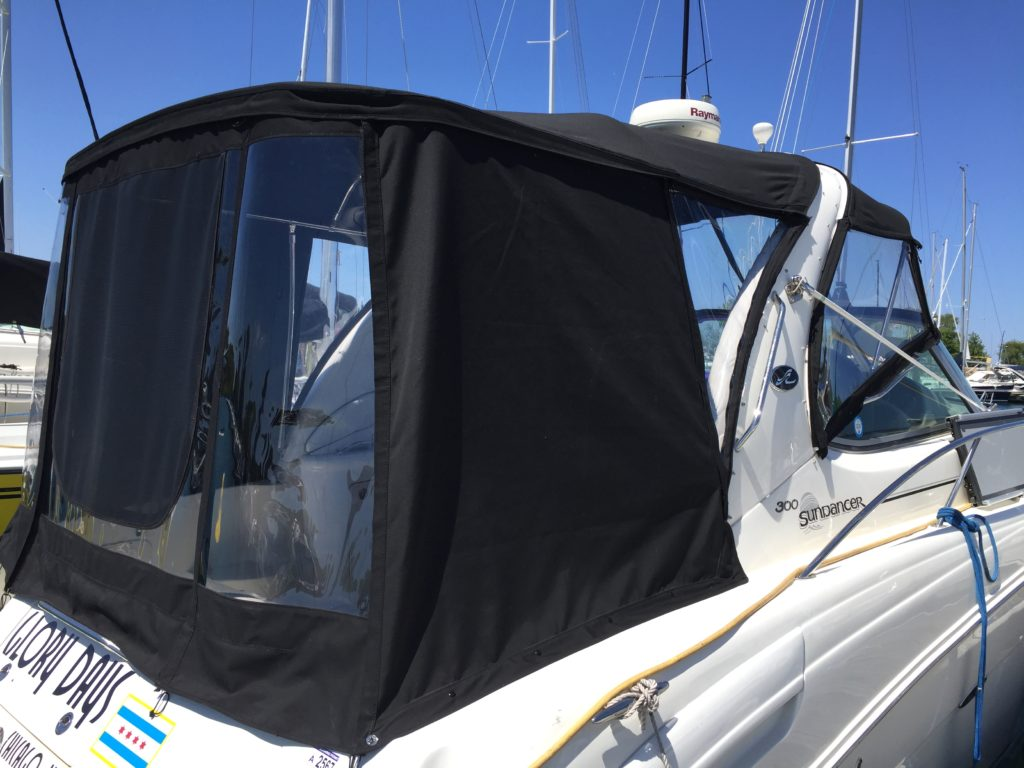 Sea Ray Sundancer Enclosure Aft