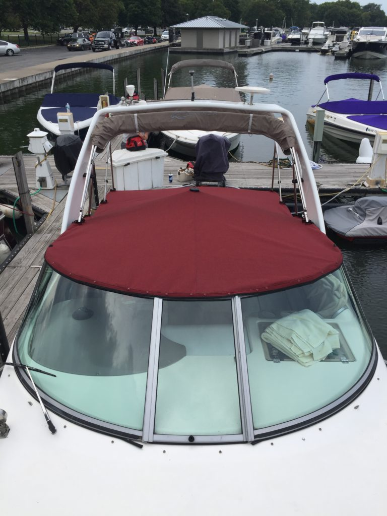 Rinker Vee 270 Cockpit Cover by Chicago Marine Canvas