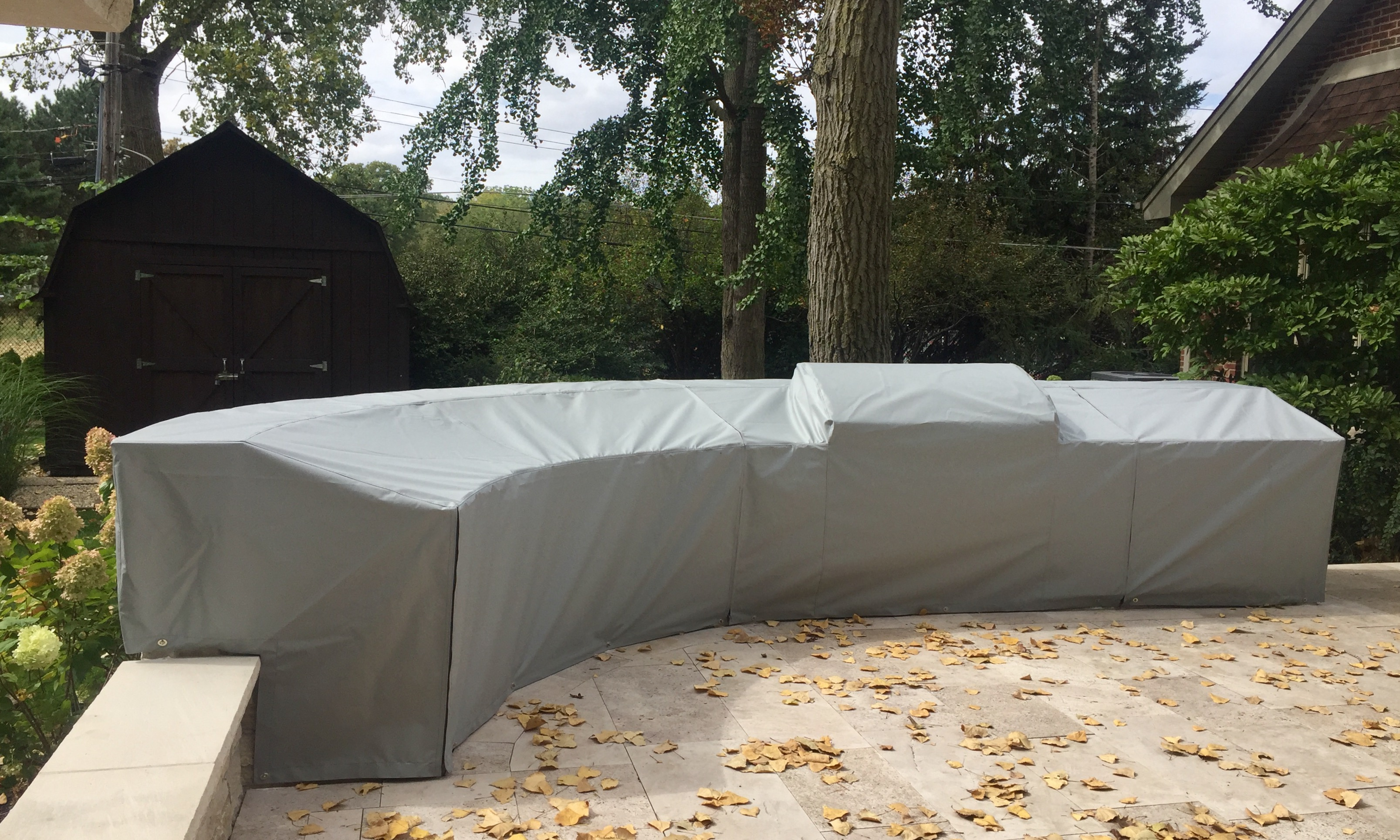 Outdoor Kitchen Covers | Chicago Marine Canvas | Custom Boat Covers