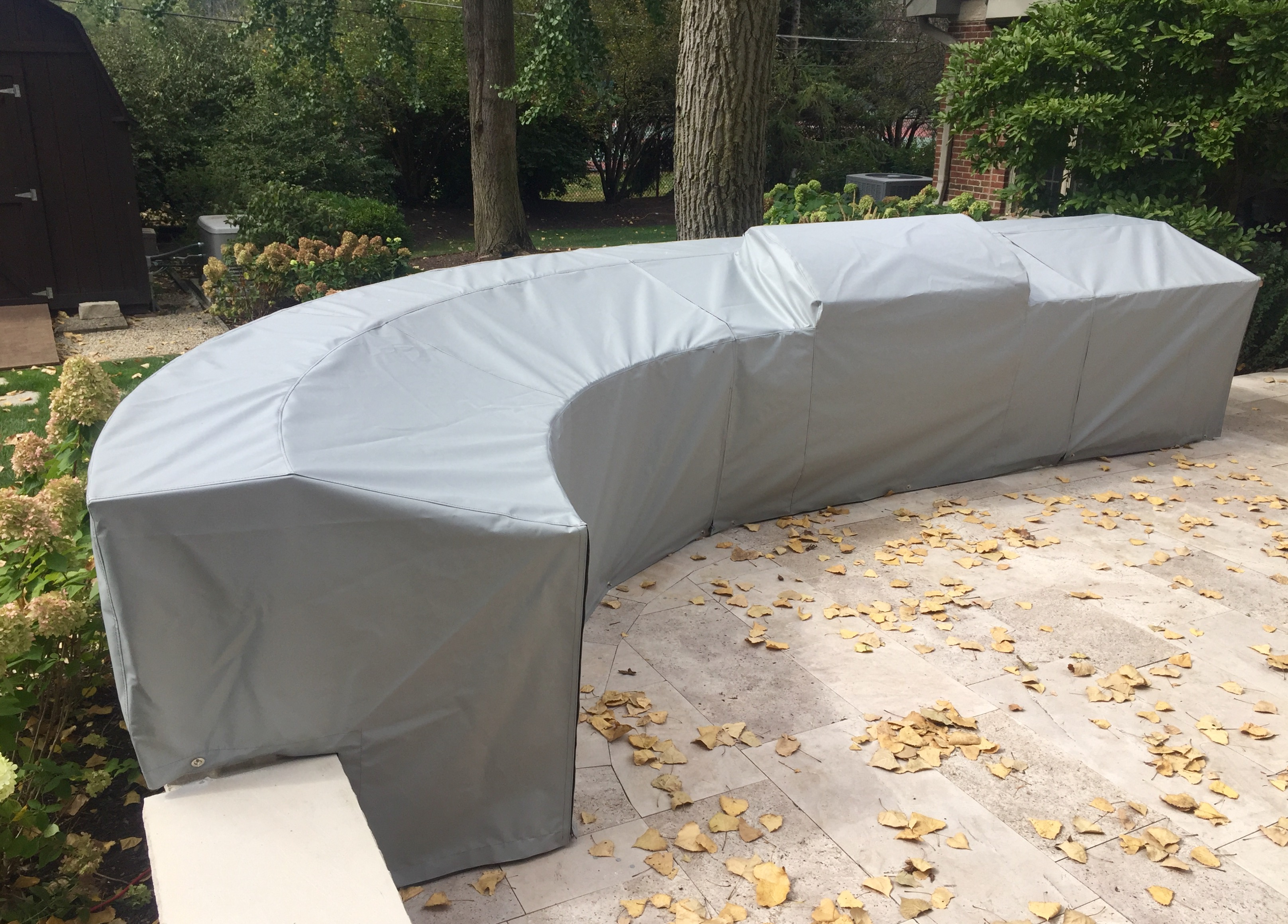 Outdoor Kitchen Cover | Chicago Marine Canvas | Custom Boat Covers