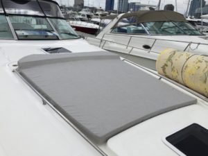 Sea Ray Sundancer 500 Custom Sunpad By Chicago Marine Canvas