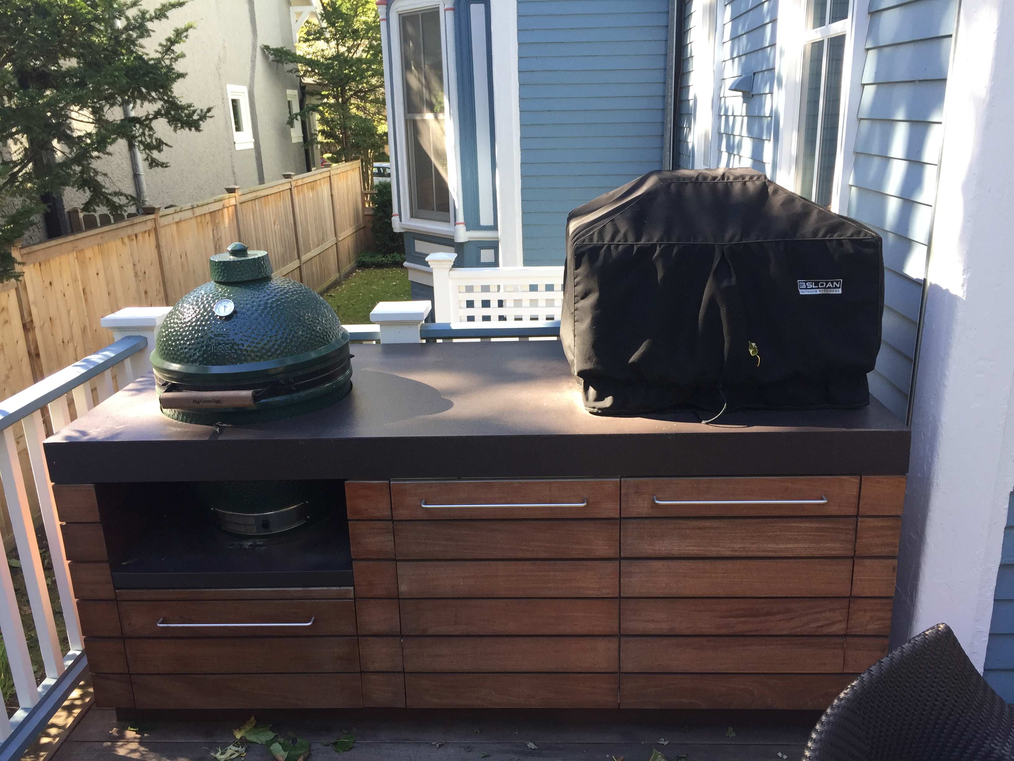 sloan outdoor kitchens stainless steel custom outdoor kitchen cover chicago marine canvas boat covers