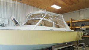 Bertram 31' Custom Full Enclosure