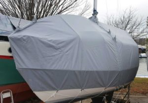 Winter Sail Boat Cover