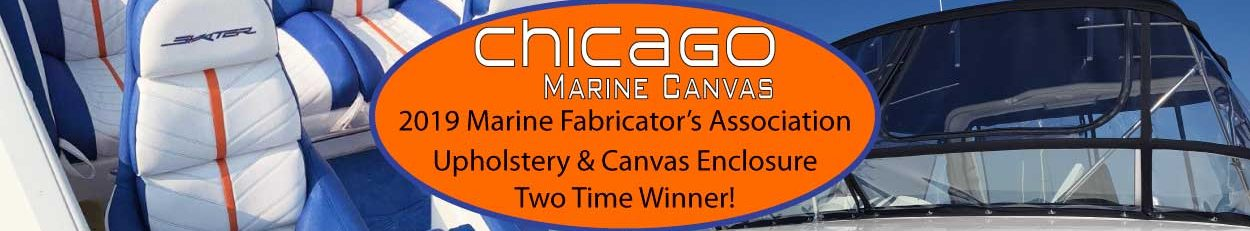 Chicago Marine Canvas - 2019 Marine Fabricator Association Two Time Award Winner in Upholstery and Canvas
